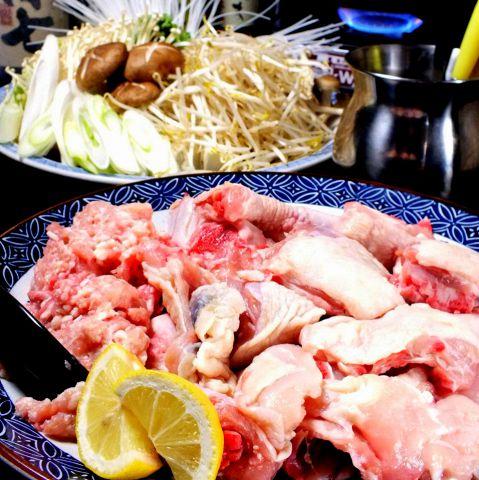 薩摩赤鶏本来の味を愉しむ【究極の水炊きコース】120分飲み放題付4950円(税込)