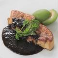 料理メニュー写真フォアグラのソテー 岩海苔ソース