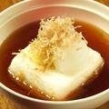 料理メニュー写真ポテトチーズもち【3個】/京藤野とうふ揚げ出し豆腐 ごぼう唐揚げつき