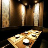 4~6名様向け個室もご用意しております。上質な和空間は安らぎある「大人の隠れ家」新宿でワンランク上のご宴会をお楽しみ頂けます。外せない接待や会食、更には誕生日・記念日などにも最適です。