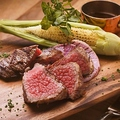 料理メニュー写真岩手県産黒毛和牛「門崎熟成肉」のグリル<150g>