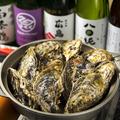 料理メニュー写真東広島安芸津産カキの地酒蒸し