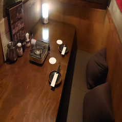 【限定1室】当店では、カップルシートソファー席をご用意致しております。デートや記念日におすすめです☆落ち着きある空間でお寛ぎください。お席のみのご予約も承っております。馬喰町にお越しの際はぜひ当店をご利用くださいませ。