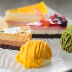 料理メニュー写真本日のケーキ