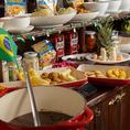 日替わりビュッフェを目当てにくるお客様もいるほどの人気♪毎日丁寧に仕込むビュッフェ、お勧めです!