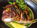 料理メニュー写真鯛のびんた焼き