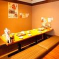 【立川】最大72名様までOKな個室席!忘年会や新年会など、会社でのご宴会にぴったり★
