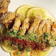料理メニュー写真塩レモン出汁 × 博多地鶏