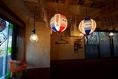 提灯が大衆居酒屋ならではの雰囲気を作り出します♪