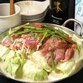 料理メニュー写真鶏肉鍋(お1人様のご注文OK)