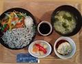 料理メニュー写真特製シラス丼ランチセット