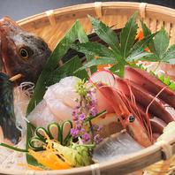 ■産地直送!鮮魚のお刺身は身がプリップリ!