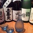 日本酒も多数ご用意!!旨いつまみと合わせれば天国♪