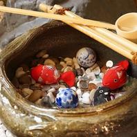 京風の店内、京風の料理