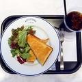 料理メニュー写真A、選べるトーストセット [ミニサラダ、コーヒーまたは紅茶付き(hot/ice)]