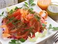 ◆トマトサラダ◆ケッパーソースでどうぞ♪