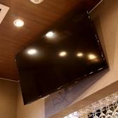 大型テレビも二台完備!DVD再生も可能ですのでお気軽に「シュラスコB」までお問い合わせください。誕生日や記念日等にもおすすめです!