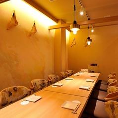 上質なお料理には上質な空間を◎お洒落でモダンな店内は様々なシーンにおすすめ♪仲間内の飲み会や接待など、各シーンに合わせてお席をご用意いたします。ご希望のお席がございましたらご予約時にお気軽にご相談ください。