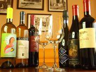 シチリア産ワインが充実