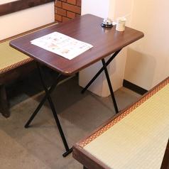 【1Fテーブル】少人数のお客様でもお楽しみ頂けるようリニューアル致しました!