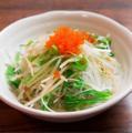料理メニュー写真大根と水菜のシャキシャキサラダ