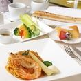 お客様に安心していただける食材をご用意。どなたでも召し上がっていただきやすいよう配慮をしております。