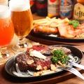 料理メニュー写真炭火焼ステーキ