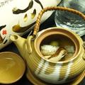 料理メニュー写真松茸と鱧の土瓶蒸し