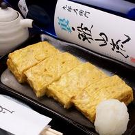 ◆◇隠れた一品♪蕎や本田のだし巻き卵680円◆◇
