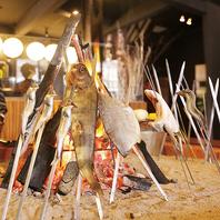 究極の焼き魚「原始焼き」