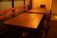 ご家族の利用にも最適なひろびろテーブル席♪