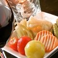 料理メニュー写真色々野菜のピクルス