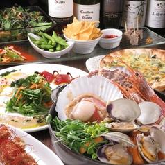 イタリアン魚酒場 オルガニコ 静岡のコース写真