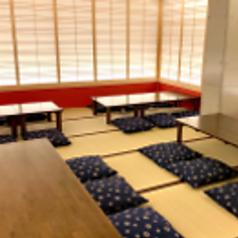 各種宴会に最適な完全個室は最大24名様まで!ゆったり座れるお座敷席で、周りを気にせずお食事をお楽しみください♪