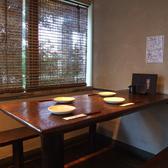 4名テーブルもございます。ランチ利用も人気なお店!