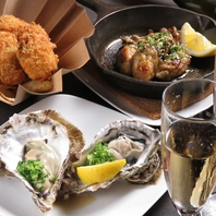広島の厳選した牡蠣を提供!