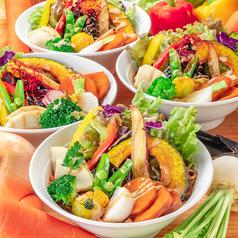 野菜党×かほラーメンの写真
