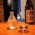 大人気の獺祭、ご用意しております!日本酒に合うお料理をご用意してお待ちしております!