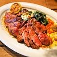 ディナー★大人気のステーキ。牛肉を贅沢に焼き上げた逸品です!ディナーの人気メニュー