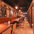 【テーブル16名席】オープンスペースは最大20名様までご利用可能です。