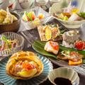 料理メニュー写真季節や仕入によってメニューは変動致します。