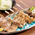 料理メニュー写真串焼き7種盛り