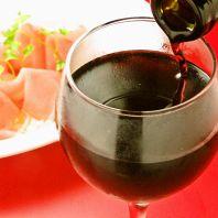 ワインに合う小皿料理多数