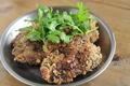 料理メニュー写真赤鶏のレバカツ