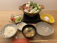 とやま和牛すき焼き鍋定食