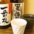 焼酎・日本酒もいろいろ揃ってます!