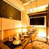 新宿駅より徒歩3分の落ち着いた雰囲気の個室席が自慢の美食を嗜む大人のためのイタリアンダイニング♪2名様~団体様まで間接照明の優しく照らすプライベート個室をご用意致します!優雅な煌びやかな個室席は新宿での飲み会や女子会、合コンや誕生日など様々なシーンに最適な個室空間となっております♪