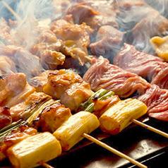 鶏串各種(ジャンボ級)