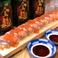 サーモン・いくら ロング寿司