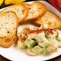 料理メニュー写真海老のアボカドのタルタル
